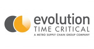 Evolution Time Critical A Metro Supply Chain Group Company Logo